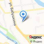 Фрегат на карте Улан-Удэ