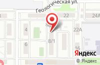 Схема проезда до компании ГОСТЕХНАДЗОР в Петропавловке