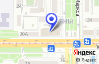 Схема проезда до компании МАГАЗИН САЯНЫ в Улан-Удэ