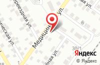 Схема проезда до компании Орловский картон в Шиловском