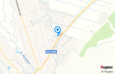 Местоположение на карте пункта техосмотра по адресу Респ Бурятия, с Бичура, ул Комсомольская, д 2
