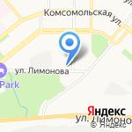 Российская гимназия №59 на карте Улан-Удэ