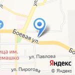Тимис на карте Улан-Удэ