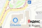 Схема проезда до компании Алекс-Сервис в Улан-Удэ