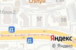 Схема проезда до компании Сбербанк, ПАО в Улан-Удэ