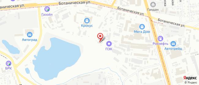 Карта расположения пункта доставки DPD Pickup в городе Улан-Удэ