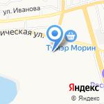 Бурятавтосервис на карте Улан-Удэ