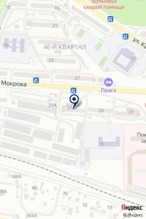 АВТОСТОЯНКА АЗИЯ ЛАДА-СЕРВИС на карте Улан-Удэ