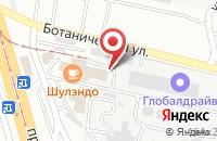 Схема проезда до компании Химпром в Улан-Удэ