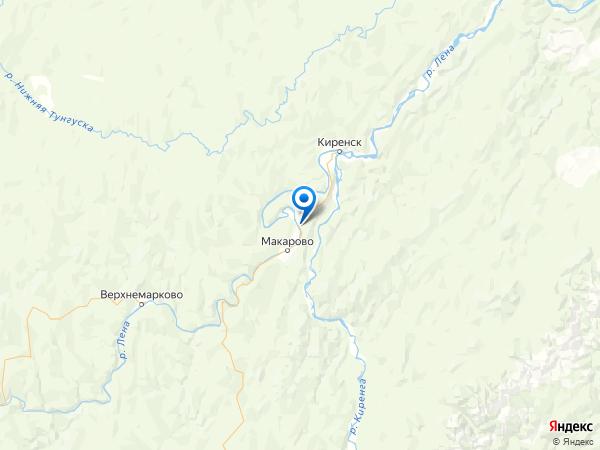 поселок Пашня на карте