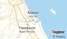 Отели города Хойан на карте