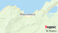 Отели города Максимиха на карте
