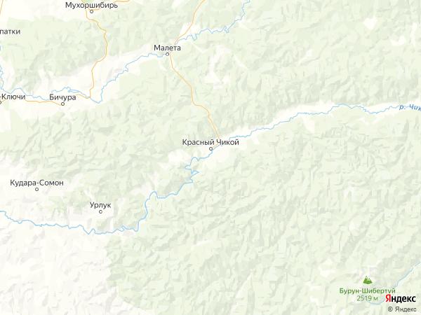 село Архангельское (Качен) на карте