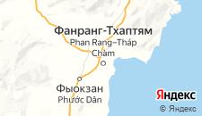 Отели города Фанранг на карте