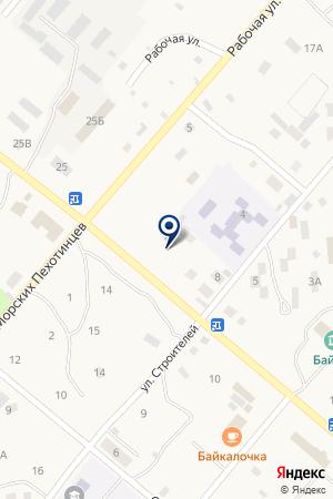 ОВД Г. СЕВЕРОБАЙКАЛЬСК МВД РБ на карте Северобайкальска