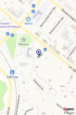 РОСГОССТРАХ - БУРЯТИЯ - МЕДИЦИНА на карте Северобайкальска