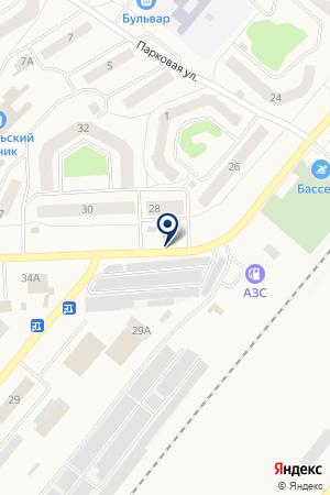 МАГАЗИН ИНГОДА на карте Северобайкальска