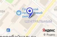 Схема проезда до компании МАГАЗИН МЕБЕЛЬ в Северобайкальске