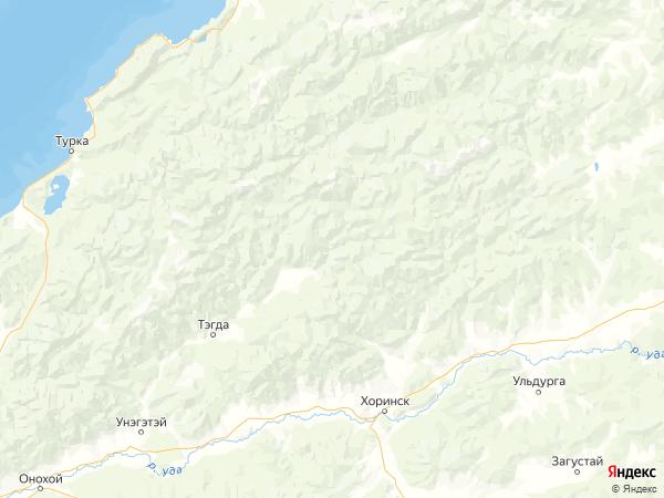 поселок Малая Курба на карте