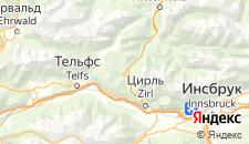 Отели города Зефельд-ин-Тироль на карте
