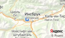 Отели города Инсбрук на карте