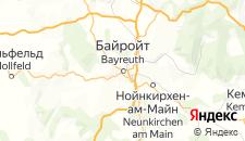 Отели города Байроит на карте