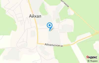Местоположение на карте пункта техосмотра по адресу Респ Саха /Якутия/, у Мирнинский, п Айхал