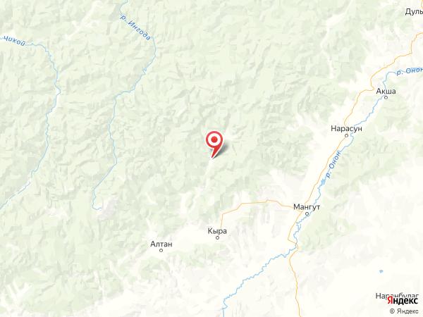 село Устье на карте