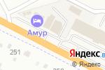 Схема проезда до компании Амур в Смоленке
