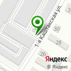 Местоположение компании Гаражный кооператив №7