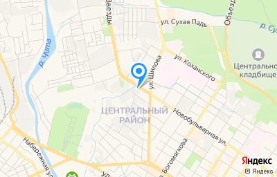 Местоположение на карте пункта техосмотра по адресу г Чита, ул Новобульварная, д 161 к б