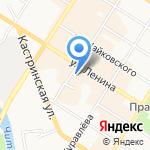 Русский мех на карте Читы