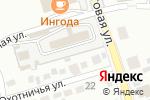 Схема проезда до компании Горсвет, МП в Чите