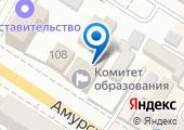 Министерство образования, науки и молодежной политики Забайкальского края на карте