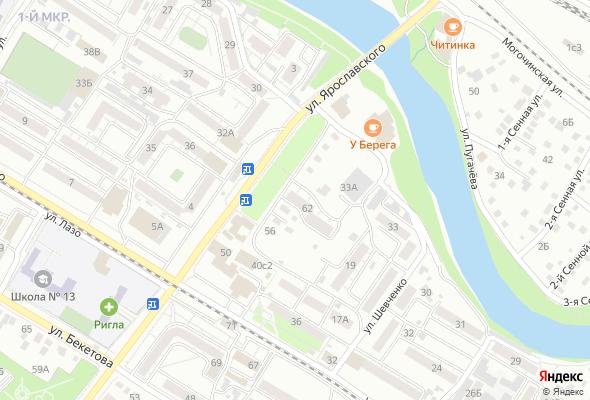 жилой комплекс ул. Ярославского 62