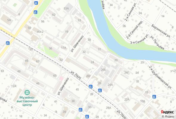 жилой комплекс ул. Шевченко 24