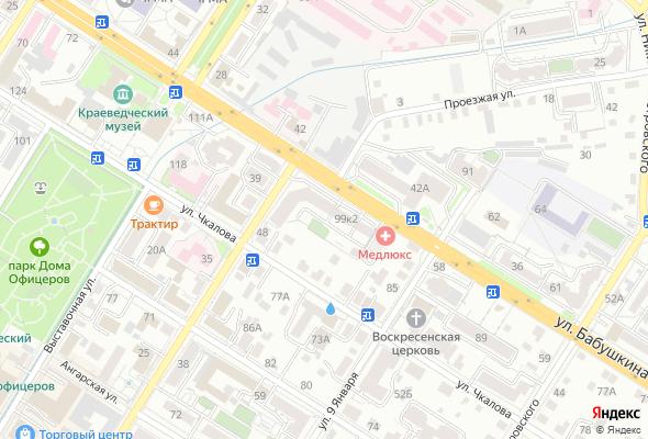продажа квартир ул. Бабушкина, 99