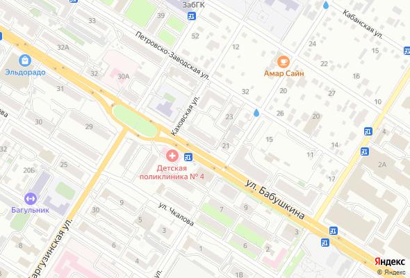 продажа квартир ул. Бабушкина, 20