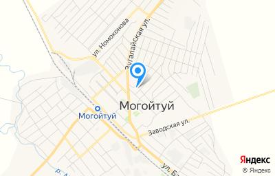 Местоположение на карте пункта техосмотра по адресу Забайкальский край, пгт Могойтуй, ул Агинская