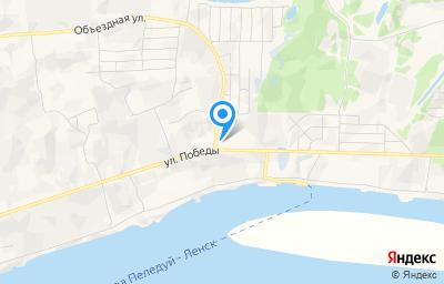 Местоположение на карте пункта техосмотра по адресу Респ Саха /Якутия/, г Ленск, ул Победы, д 101