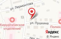 Схема проезда до компании Почтовое отделение в Ильинке
