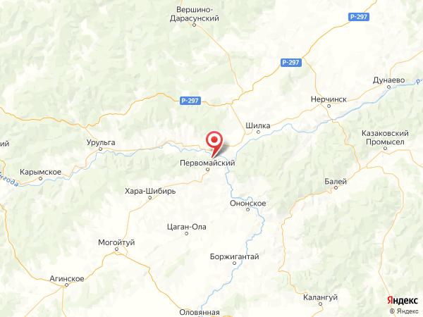 коттеджный поселок Горняк на карте