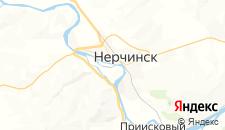 Отели города Нерчинск на карте