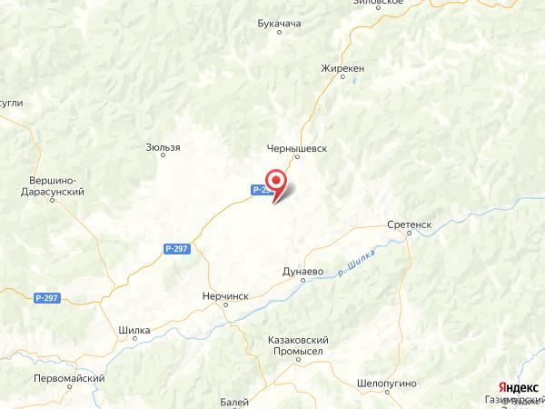 село Комсомольское на карте