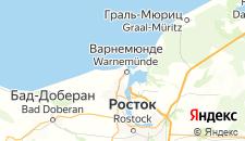 Отели города Варнемюнде на карте