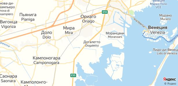 Mira на карте