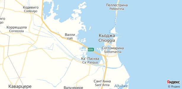 Chioggia на карте