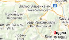 Отели города Берхтесгаден на карте