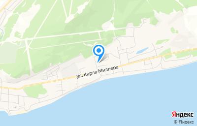 Местоположение на карте пункта техосмотра по адресу Респ Саха /Якутия/, г Олекминск, ул К.Миллера, д 35Б