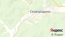 Гостиницы города Сковородино на карте